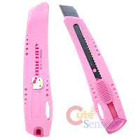 Hello Kitty stanley knife box cutter